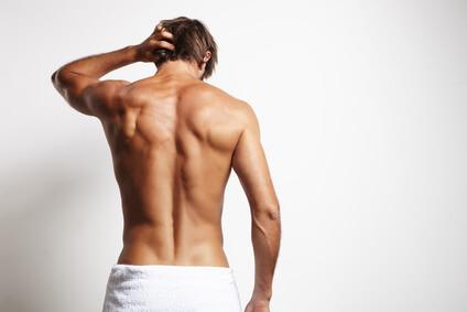 Rücken rasieren