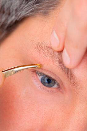Augenbrauen Männer Zupfen Trimmen Rasieren Anleitung